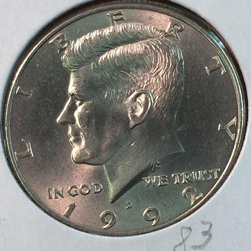 1990-D Kennedy Half Dollar (40350)