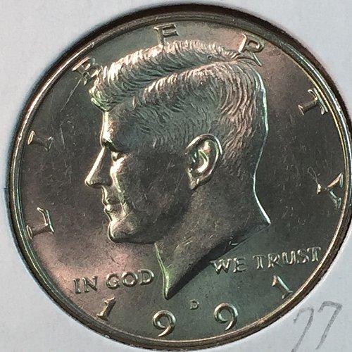 1991-D Kennedy Half Dollar (40355)