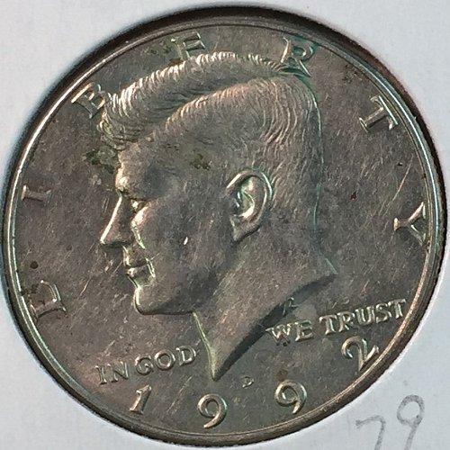 1992-D Kennedy Half Dollar (40357)
