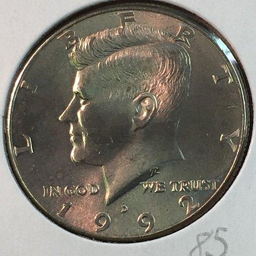 1992-D Kennedy Half Dollar (10041)