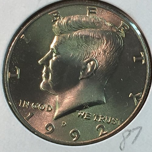 1992-D Kennedy Half Dollar (10042)
