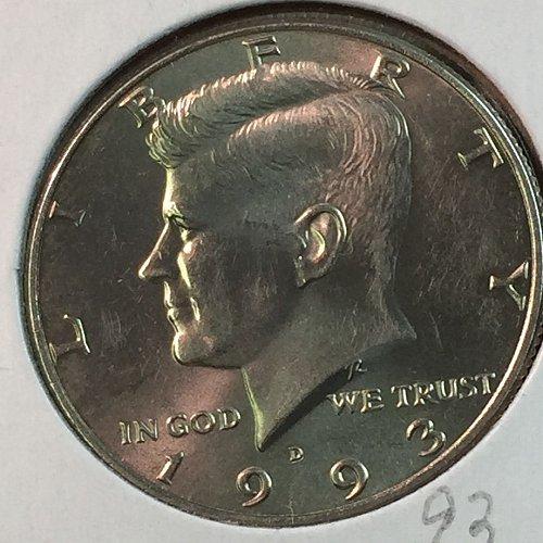 1993-D Kennedy Half Dollar (40362)
