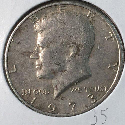 1973-D Kennedy Half Dollar (40238)