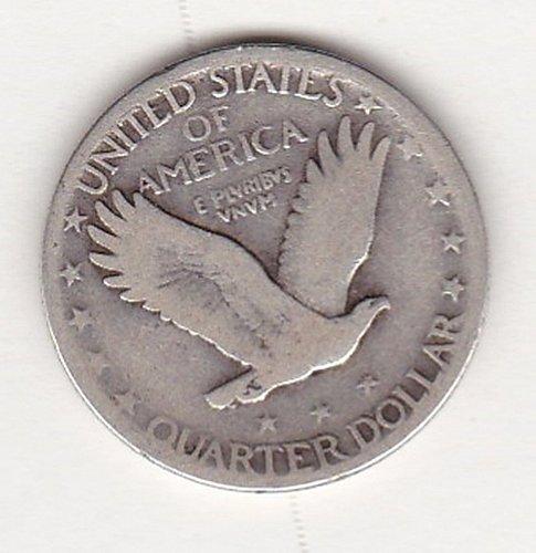 1929 Standing Liberty Quarter  25C   (#329)