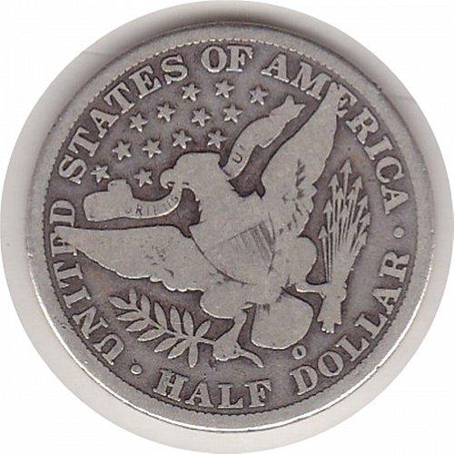 1906-O Barber Half Dollar  *50C*          (#428))