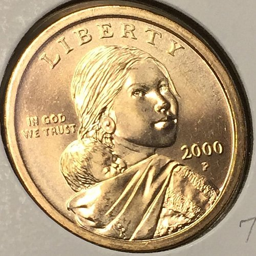 2000-P Sacagawea Dollar (40373)