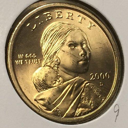 2000-D Sacagawea Dollar (40376)