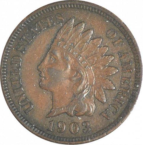 1903 P Indian Cent, (Item 355)