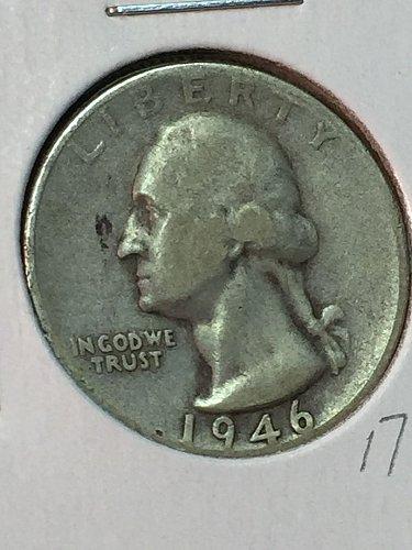 1946-S Washington Quarter (10066)