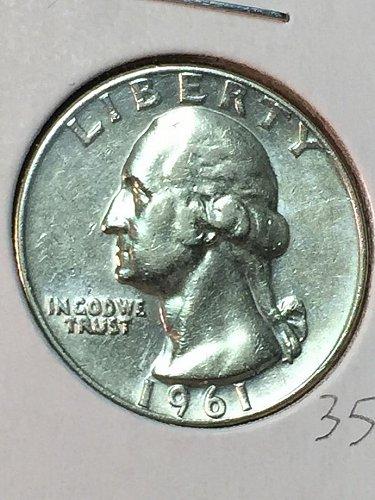1961-D Washington Quarter (10075)
