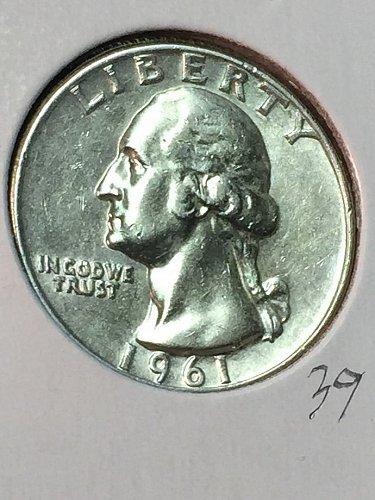 1961-D Washington Quarter (10077)