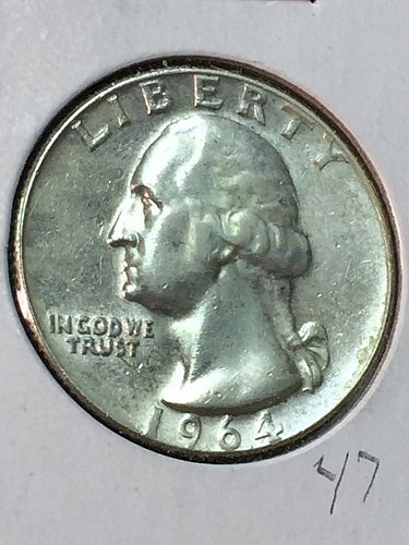 1964-D Washington Quarter (10081)