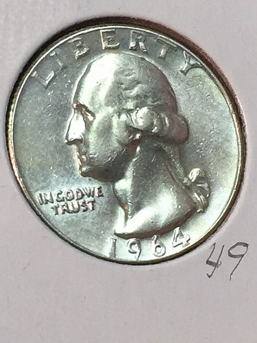 1964-D Washington Quarter (10082)