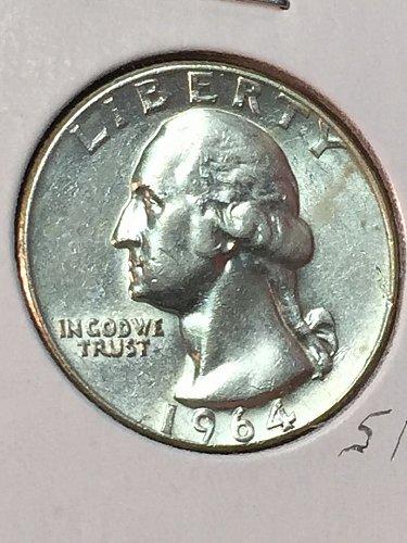 1964-D Washington Quarter (10083)
