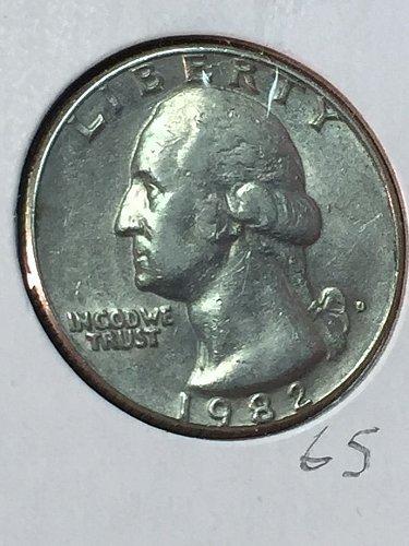 1982-D Washington Quarter (10090)