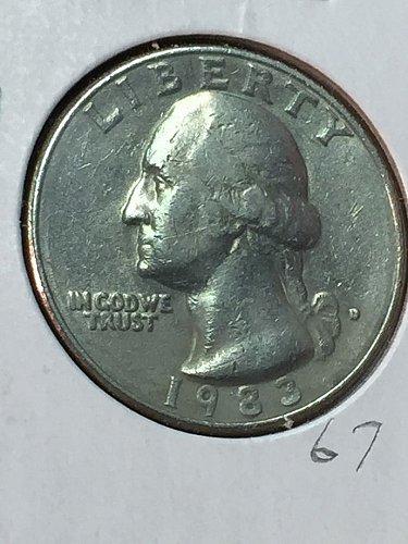 1983-D Washington Quarter (10091)