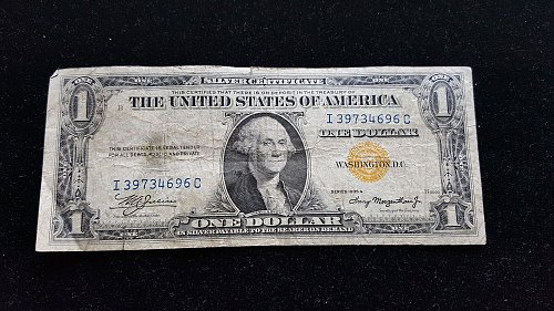 1935A $1 Silver Certificate North Africa Emergency Issue  #2