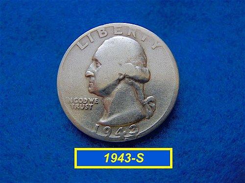 "1948-P  ""Circulated"" Washington Quarter ••• (#2421)"