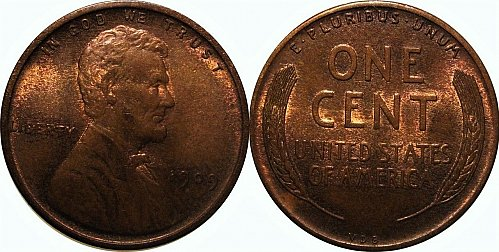 1909 VDB Lincoln Cent Small Cents – Nice Penny