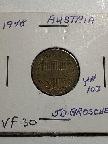 1975 Austria - 50 Groschen