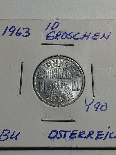 1963 Austria - 10 Groschen