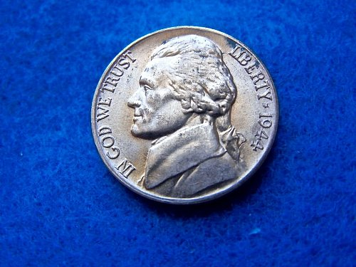 1944-D Wartime Composition (35% silver) Nickel   (#6081)