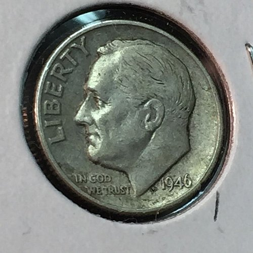 1946-P Roosevelt Dime (10111)
