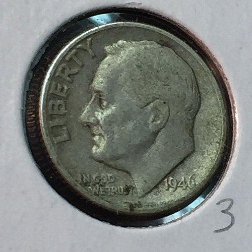 1946-D Roosevelt Dime (10112)