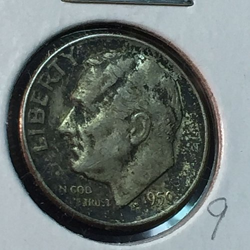 1950-D Roosevelt Dime (10115)