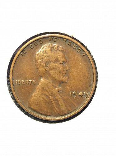 1949 P Wheat Cent