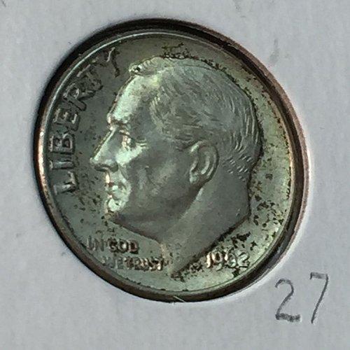 1962-D Roosevelt Dime (10141)