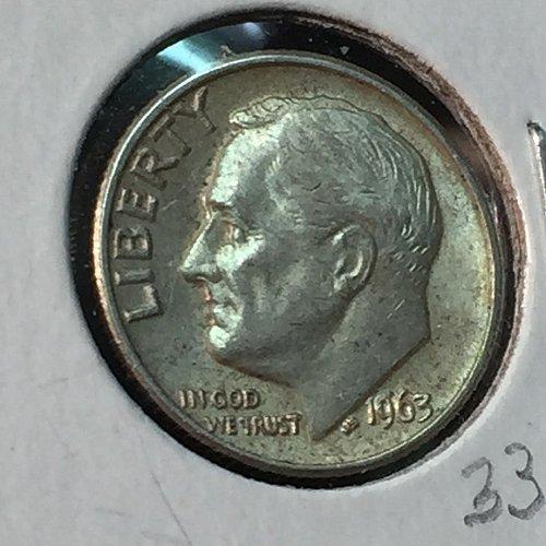1963-P Roosevelt Dime (10144)