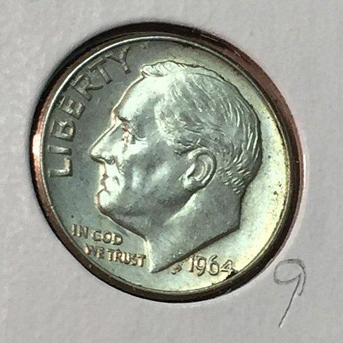 1964-D Roosevelt Dime (10166)