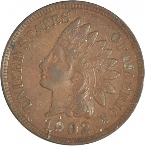 1902 P Indian Cent,  (Item 356)
