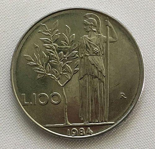 1984 R Italy 100 Lire