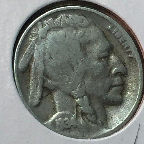 1934-D Buffalo (Indian Head) Nickel (10185)