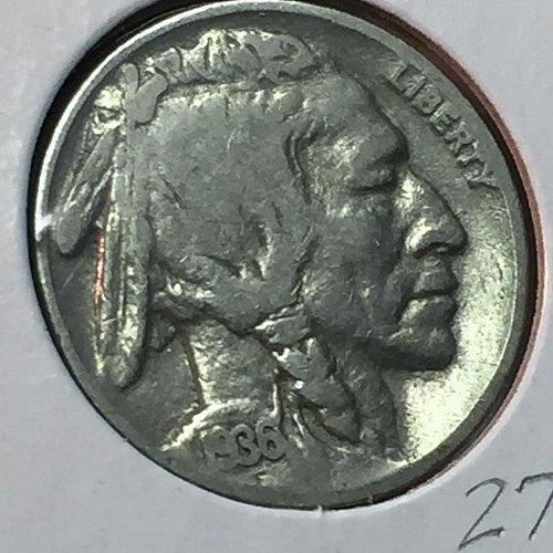 1936-P Buffalo (Indian Head) Nickel (10190)