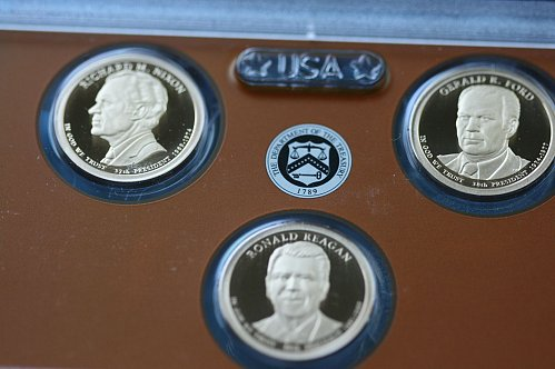 2016  S Presidential Dollar  Proof Set