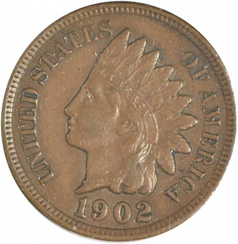 1902 P Indian Cent, (Item 358)