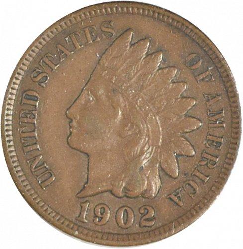 1902 P Indian Cent, (Item 358)