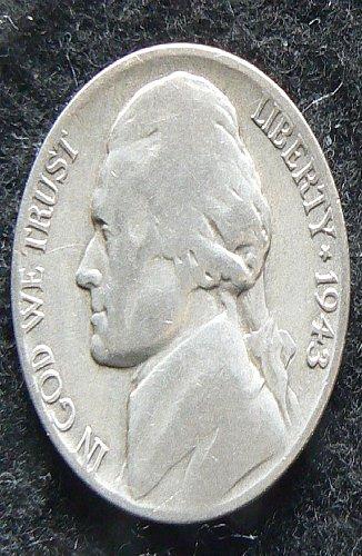 1943 P Jefferson Nickel (G-4)