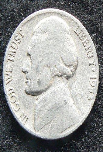 1953 D Jefferson Nickel (VG-8)