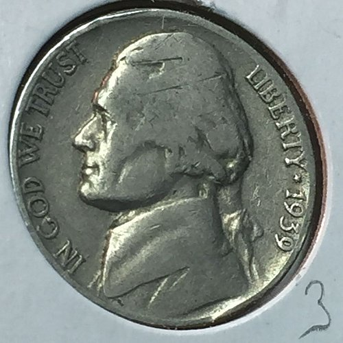1939-P Jefferson Nickel (10197)