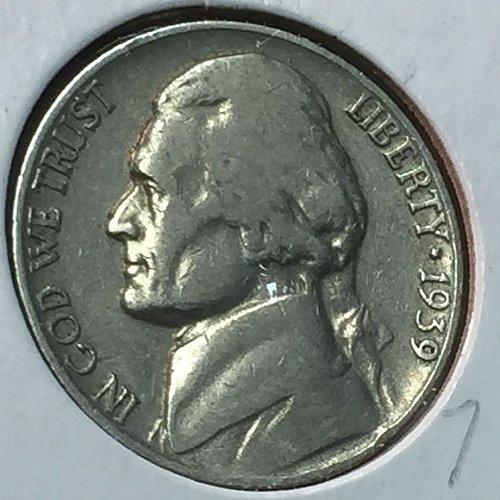 1939-P Jefferson Nickel (10199)