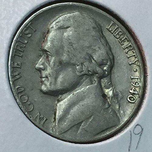1940-P Jefferson Nickel (10205)