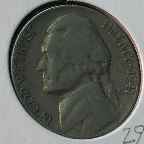 1941-D Jefferson Nickel (10210)