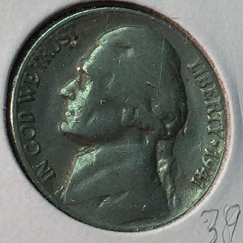 1941-S Jefferson Nickel (10215)