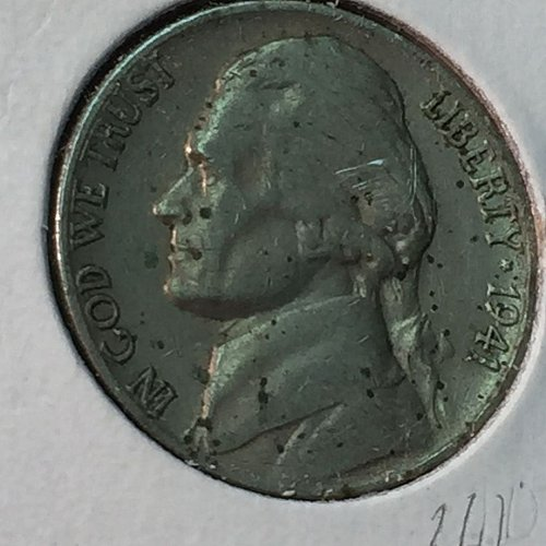 1941-S Jefferson Nickel (10216)