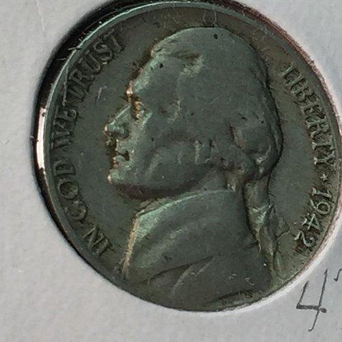 1942-P Jefferson Nickel (10217)