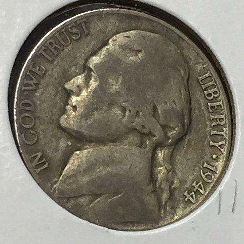 1944-P Jefferson Wartime Nickel (10241)